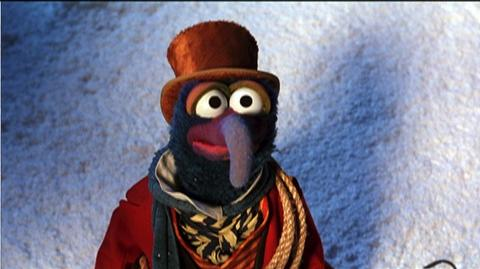The Muppet Christmas Carol 20th Anniversary Edition (1992) - Clip Rizzo Jumps
