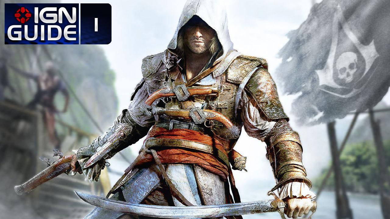 Assassin's Creed 4 Walkthrough - Sequence 01 Memory 01 Edward Kenway (100% Sync)