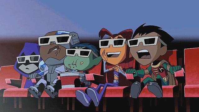 Exclusive The Titans Face 3D!