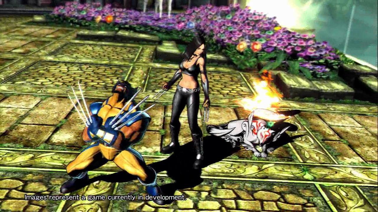 Marvel Vs. Capcom 3 X-23 Gameplay - TGS 10