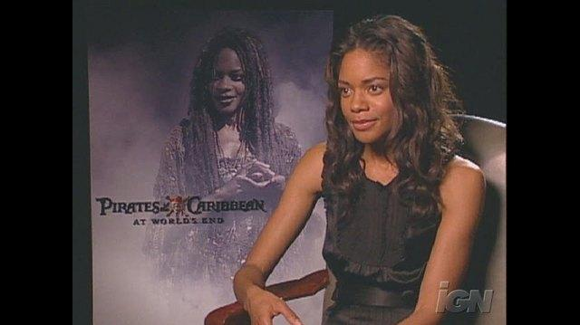 Pirates of the Caribbean At World's End Movie Interview - Naomie Harris