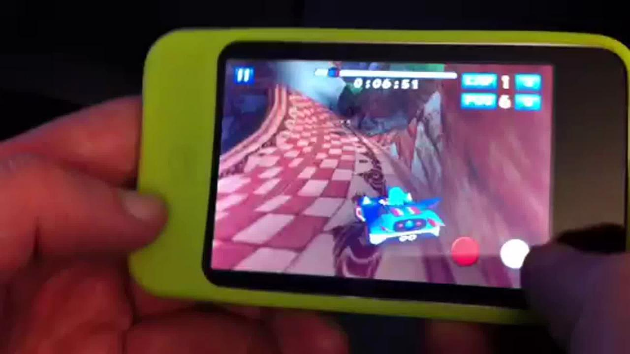 Sonic & SEGA All-Stars Racing iPhone Gameplay Video