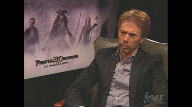 Pirates of the Caribbean At World's End Movie Interview - Jerry Bruckheimer