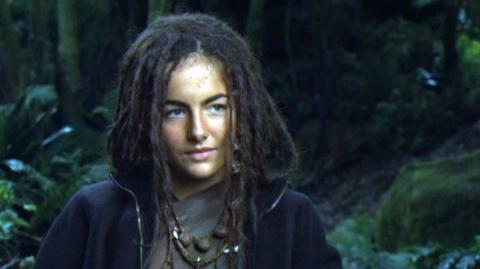 """10,000 B.C. (2008) - Interview Camilla Belle """"On the locations in the film"""""""