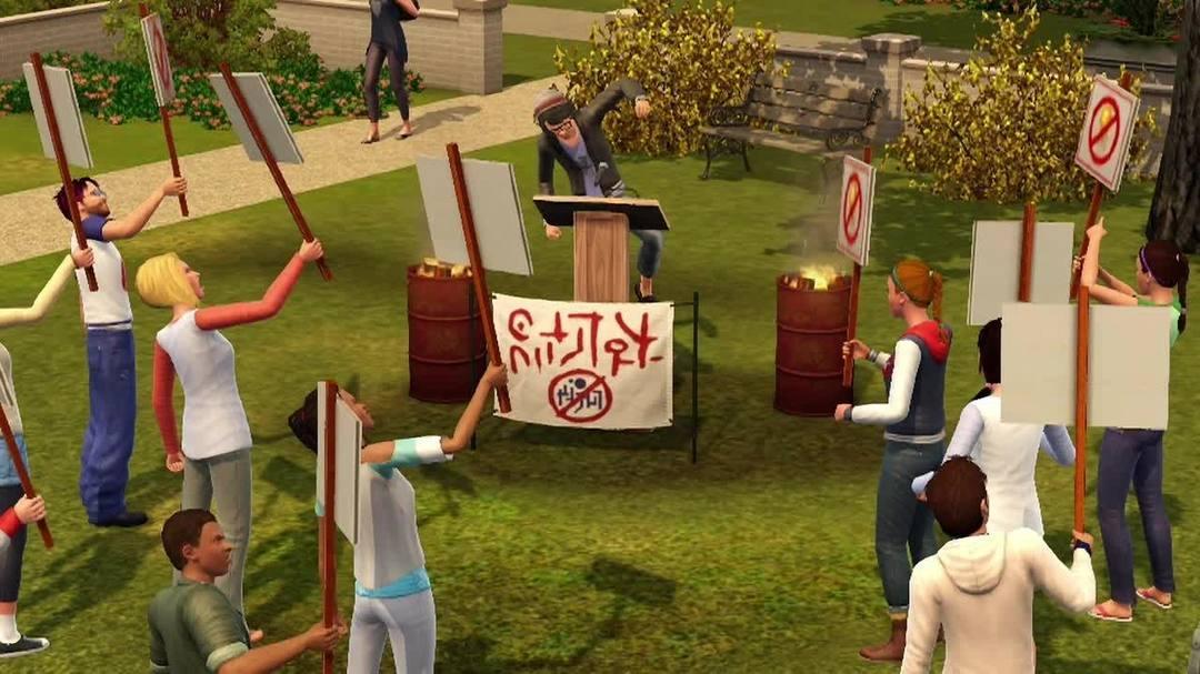 The Sims 3 University Life Trailer