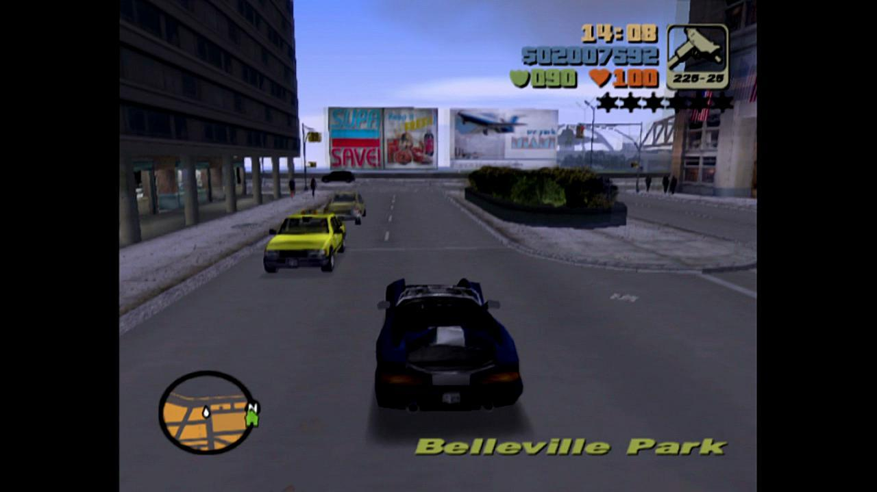 Grand Theft Auto III Easter Egg - Vice City