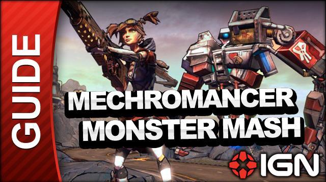 Borderlands 2 Mechromancer Walkthrough - Monster Mash (Part 2) - Side Mission