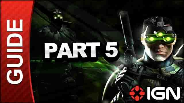 Tom Clancy's Splinter Cell Pandora Tomorrow HD - Saulnier Cryogenics Lab, Paris, France - Walkthrough (Part 5)