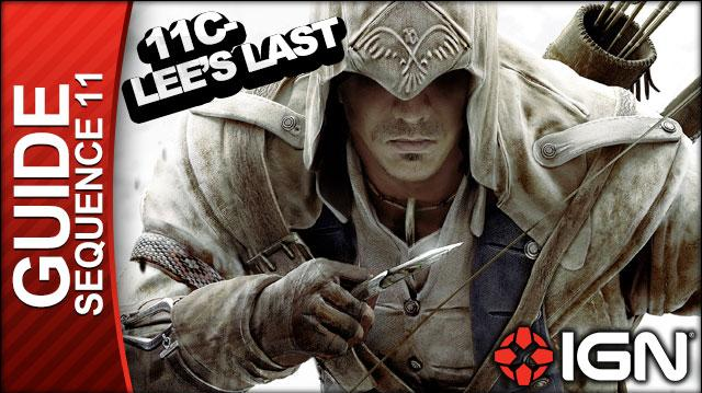 Assassin's Creed 3 - Sequence 11 Lee's Last Stand - Walkthrough (Part 45)