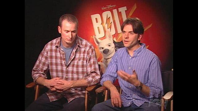 Bolt Movie Interview - Chris Williams & Byron Howard