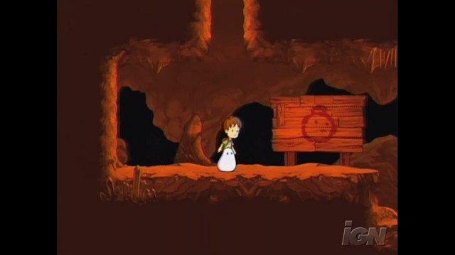 A Boy and His Blob Nintendo Wii Gameplay - Underground