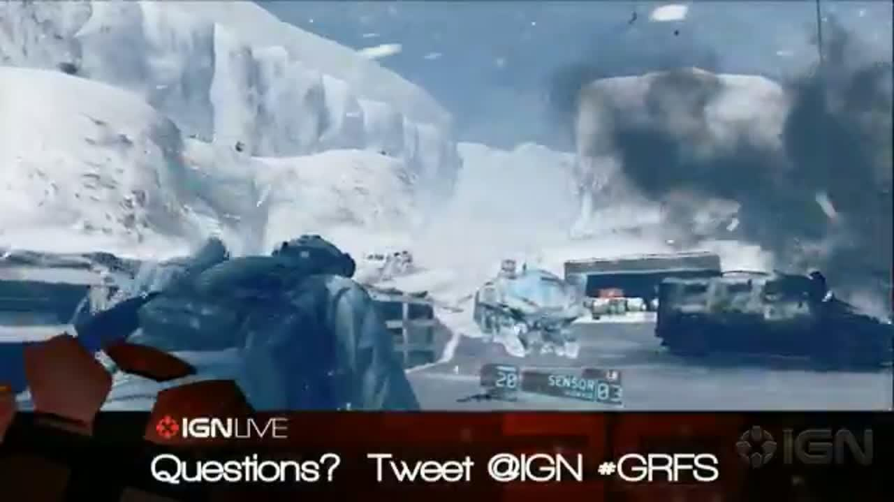 IGN Live Presents Ghost Recon Future Solider Part 2