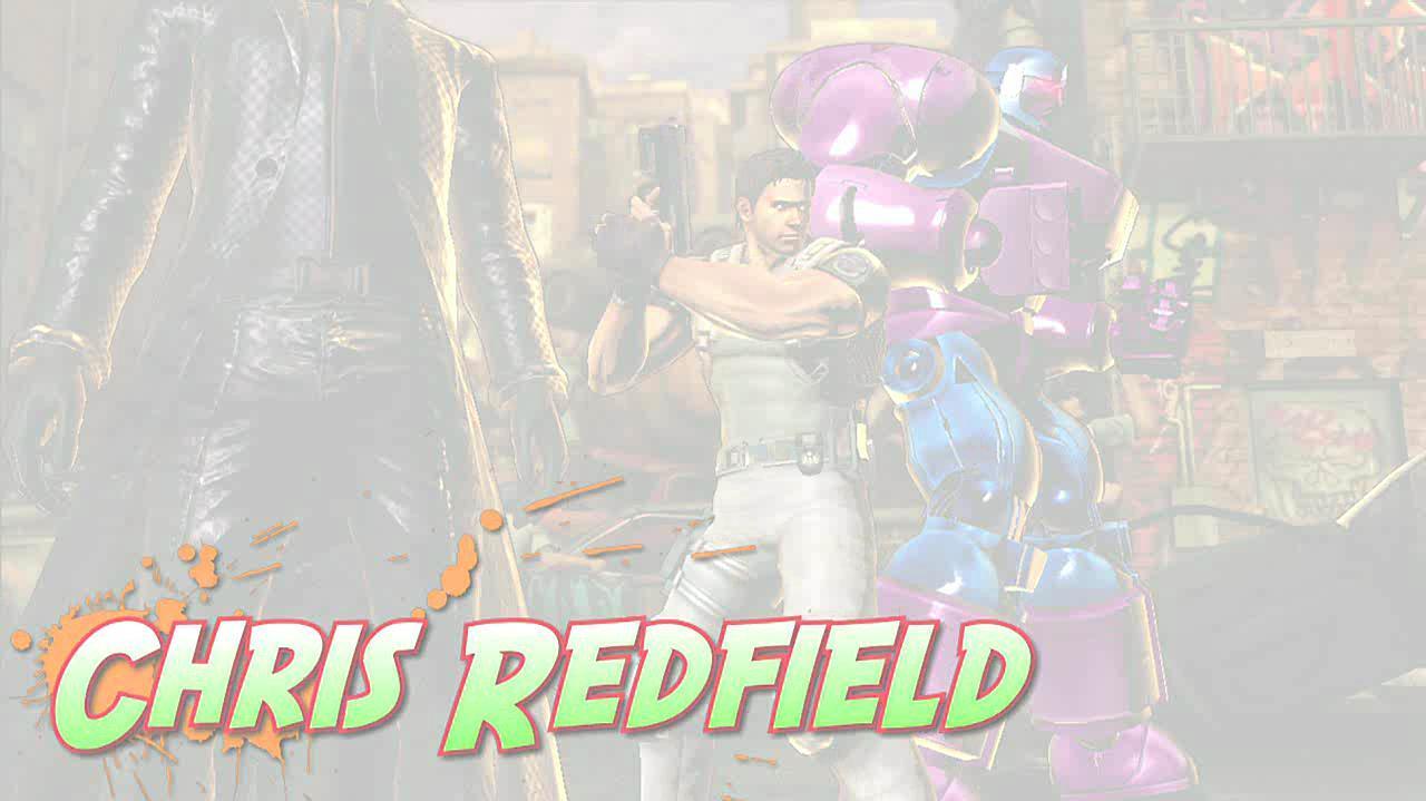 Marvel vs. Capcom 3 Chris Gameplay Footage