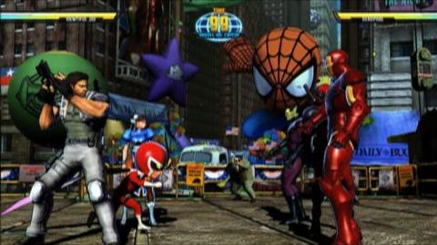 Marvel vs. Capcom 3 Fate of Two Worlds (VG) (2011) - Viewtiful Joe trailer