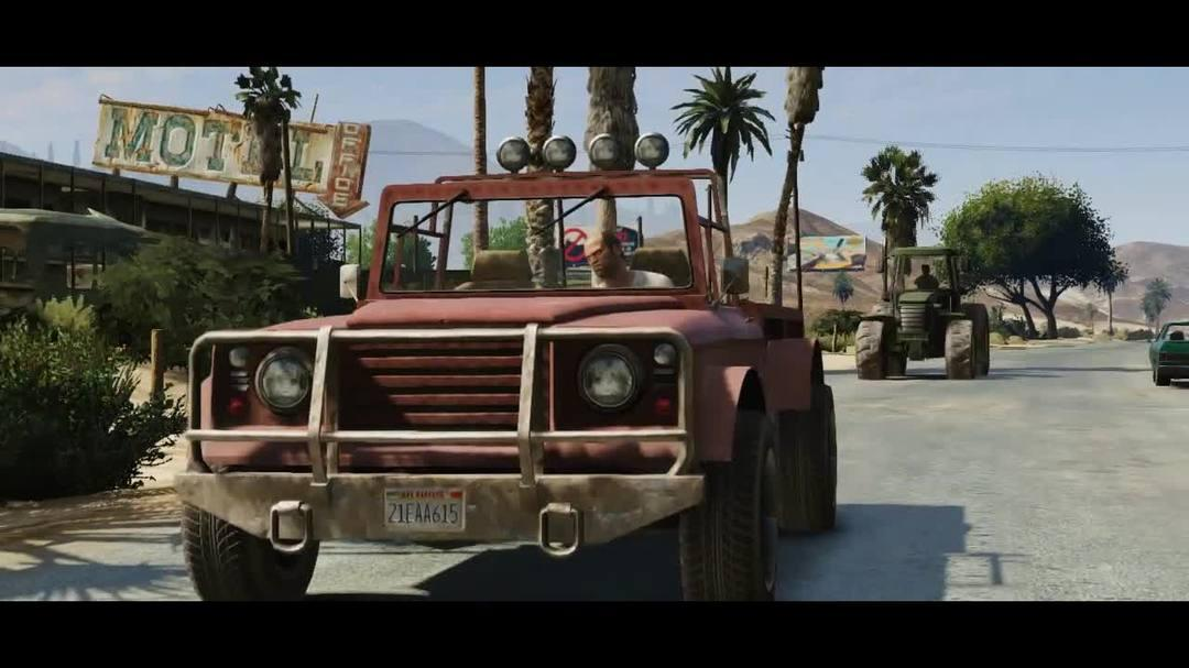 GTA V Trevor Trailer