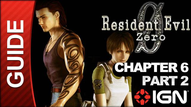 Resident Evil Zero (GameCube) - Chapter 6 Part 2 - Tyrant Boss Fight Part 2 - Walkthrough
