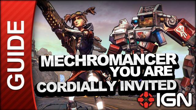 Borderlands 2 Mechromancer Walkthrough - You Are Cordially Invited RSVP - Side Mission