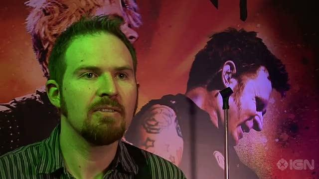 Green Day Rock Band Xbox 360 Interview - Alan Moore Video Interview