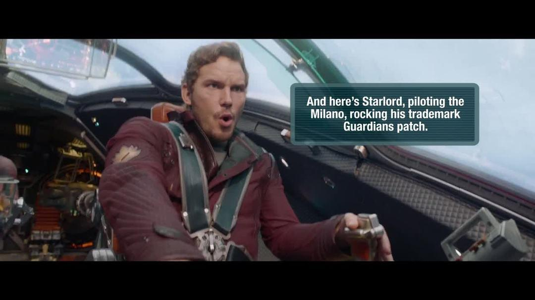 Guardians of the Galaxy Trailer - Fannotation