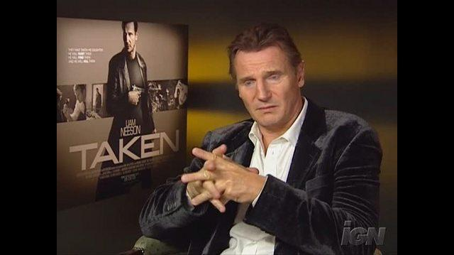 Taken Movie Interview - Liam Neeson