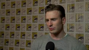 Avengers Age of Ultron - Chris Evans SDCC 2014 Interview