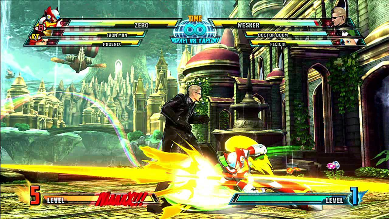 Marvel vs. Capcom 3 Zero Gameplay Footage