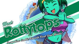 Shantae and the Pirate's Curse - Meet Rottytops Trailer