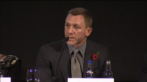 Skyfall (2012) - Interview: Daniel Craig