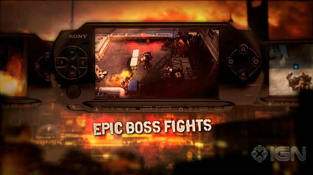 Army of Two The 40th Day Sony PSP Trailer - PSP Trailer