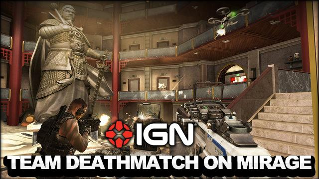 Call of Duty Black Ops 2 - Revolution DLC - Team Deathmatch on Mirage