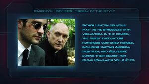 """Daredevil S01E09 """"Speak of the Devil"""" - Fan Brain"""