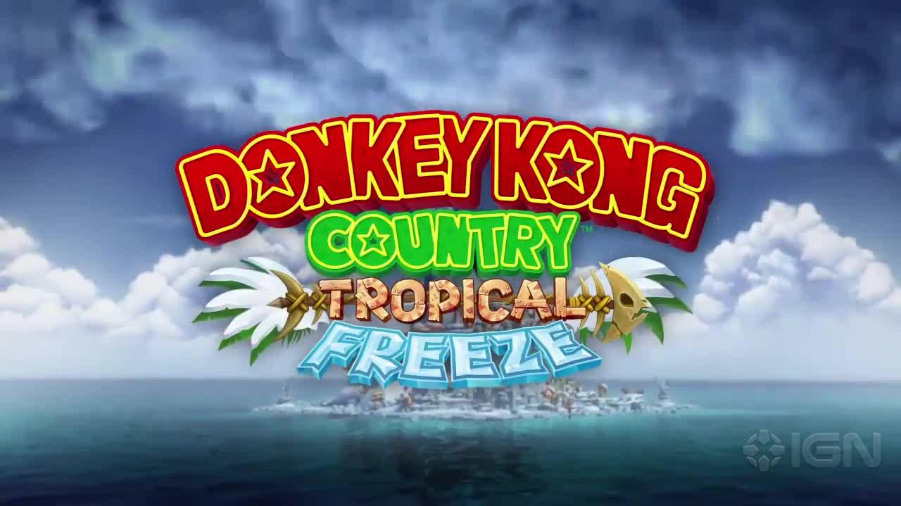 Donkey Kong Country Tropical Freeze Cranky Trailer