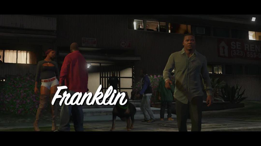 GTA V Franklin Trailer