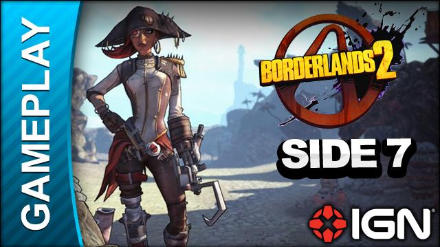 Borderlands 2 Captain Scarlett and Her Pirate's Booty DLC Walkthrough - Wing Man - Side Mission (Part 7)