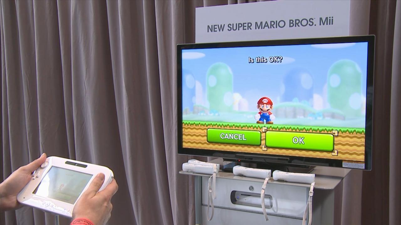 E3 2011 New Super Mario Bros. Mii Demo