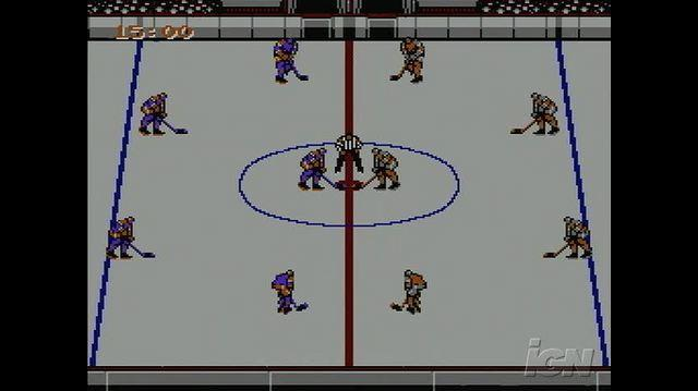 Blades of Steel Retro Game Gameplay - Fight
