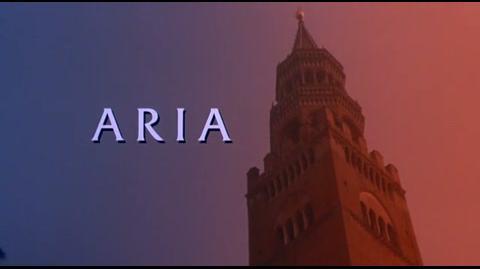 Aria - opening credits