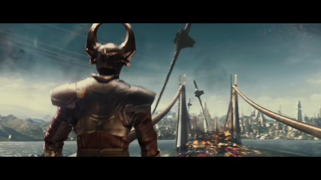 "Thor The Dark World - Clip ""Attack On Asgard"""