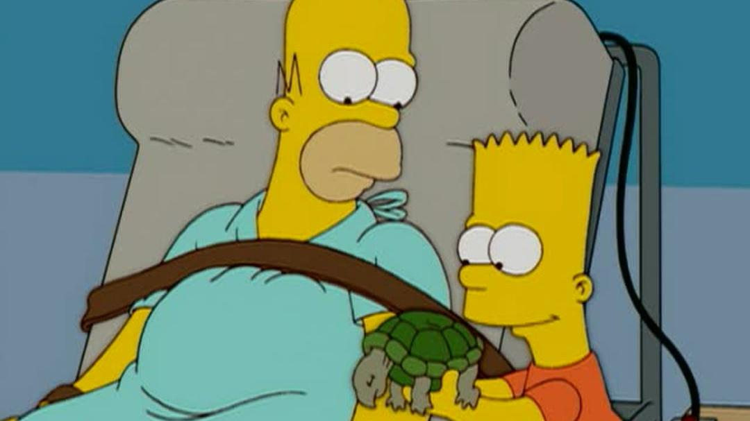 """The Simpsons Season 16 Blu-ray DVD - """"Roofer"""" Clip"""