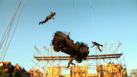 Inkheart (2009) - Behind the scenes Car stunt