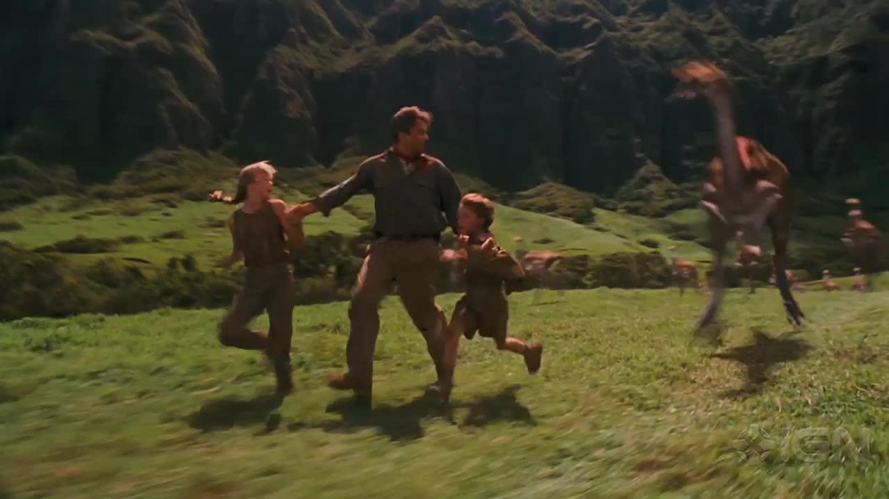 Jurassic Park 3D - They're Flocking This Way Clip