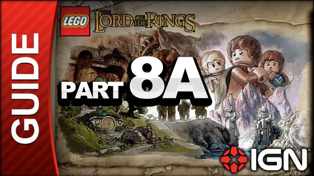 LEGO The Lord of the Rings Walkthrough Part 8A - The Dead Marshes