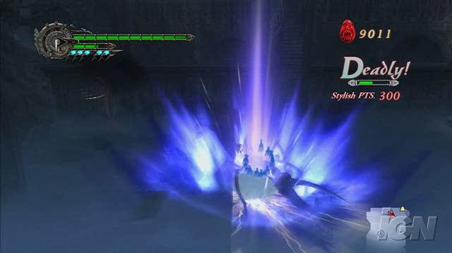 Devil May Cry 4 PlayStation 3 Gameplay - Grave Robbing