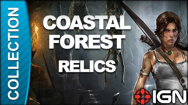 Tomb Raider Walkthrough - Relic Locations Coastal Forest