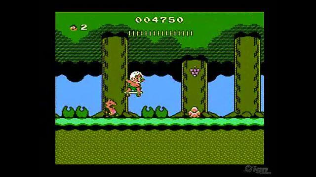 Adventure Island II Retro Game Gameplay - Gameplay