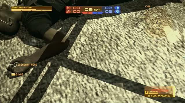 Metal Gear Online PlayStation 3 Gameplay - Robbing Him Blind