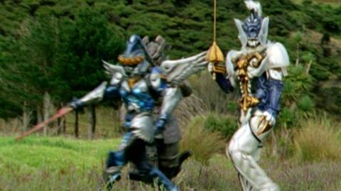 Power Rangers Operation Overdrive (2008) - Clip Red centinal ranger, pre