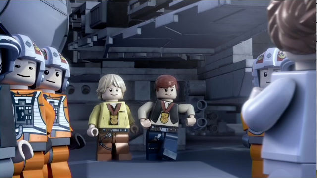LEGO Star Wars the Empire Strikes Out Clip - Sister