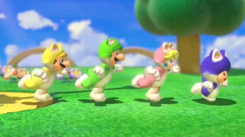 Super Mario 3D World World 2-1 Gameplay - NY Comic Con 2013