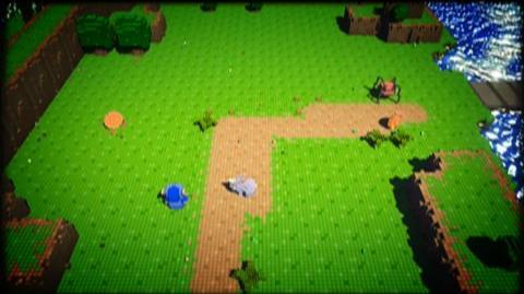 3D Dot Game Heroes (VG) (2010) - Blacksmith trailer